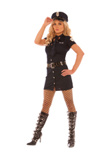 Frisky Business Police Officer Halloween Costume - S,M,L,XL