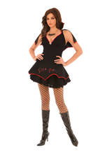 She Wants To Bite Me Sexy Halloween Costume - S,M,L,XL