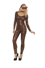 Spider Woman Bodycon Catsuit Halloween Costume ~ S-XL