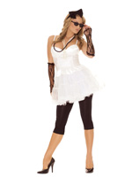 80's Superstar Funky 6 Pc Halloween Costume - S,M,L