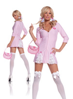 Ruffles And Lace Dolly 3 Pc Role Playing Halloween Costume ~ XL