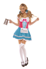Bavarian German Maid Sexy 2 Pc Halloween Costume