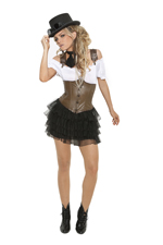 Steampunk Sally Sexy Halloween Costume - S,M,L,XL